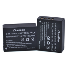 2pc NP-W126 NP W126 NPW126 Replacement Battery 1260mAh for Fujifilm FinePix HS30EXR HS33EXR HS50EXR X-A1 X-E1 X-E2 X-M1 X-Pro1