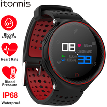 ITORMIS Sport Fitness IP68 Waterproof Smart Watch Bracelet Wrist Band Heart Rate Monitor Blood Pressure Oxygen for IOS Android itormis smart band bracelet wristband bluetooth fitness tracker smartband heart rate blood oxygen pressure for android ios