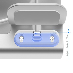 Image 4 - อลูมิเนียม3in 1แท่นชาร์จสำหรับiPhone 11 Pro XR XSMax 8 7 6สำหรับAppleนาฬิกาAirpods Charger Holder mount PDแท่นวาง