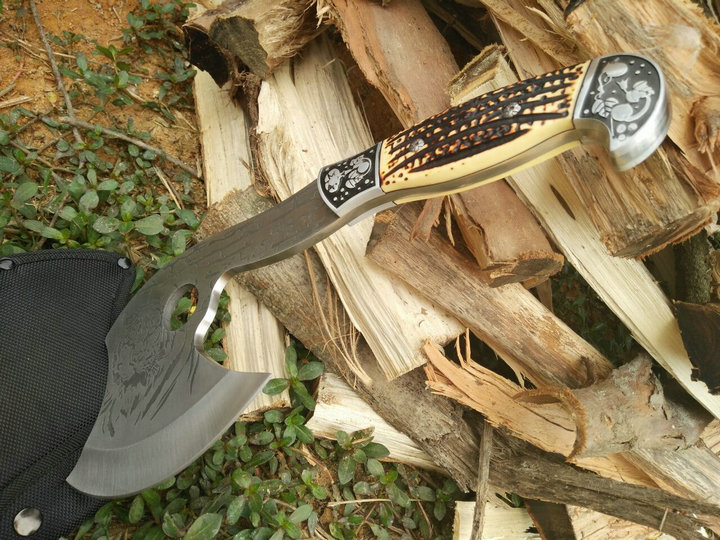 High quality Tactical  Tomahawk Army Outdoor Hunting Camping Survival Machete Axes Hand Tool Fire Axe Hatchet Tomahawk Axe a03 outdoor camping hiking survival water filtration purifier drinking pip straw army green