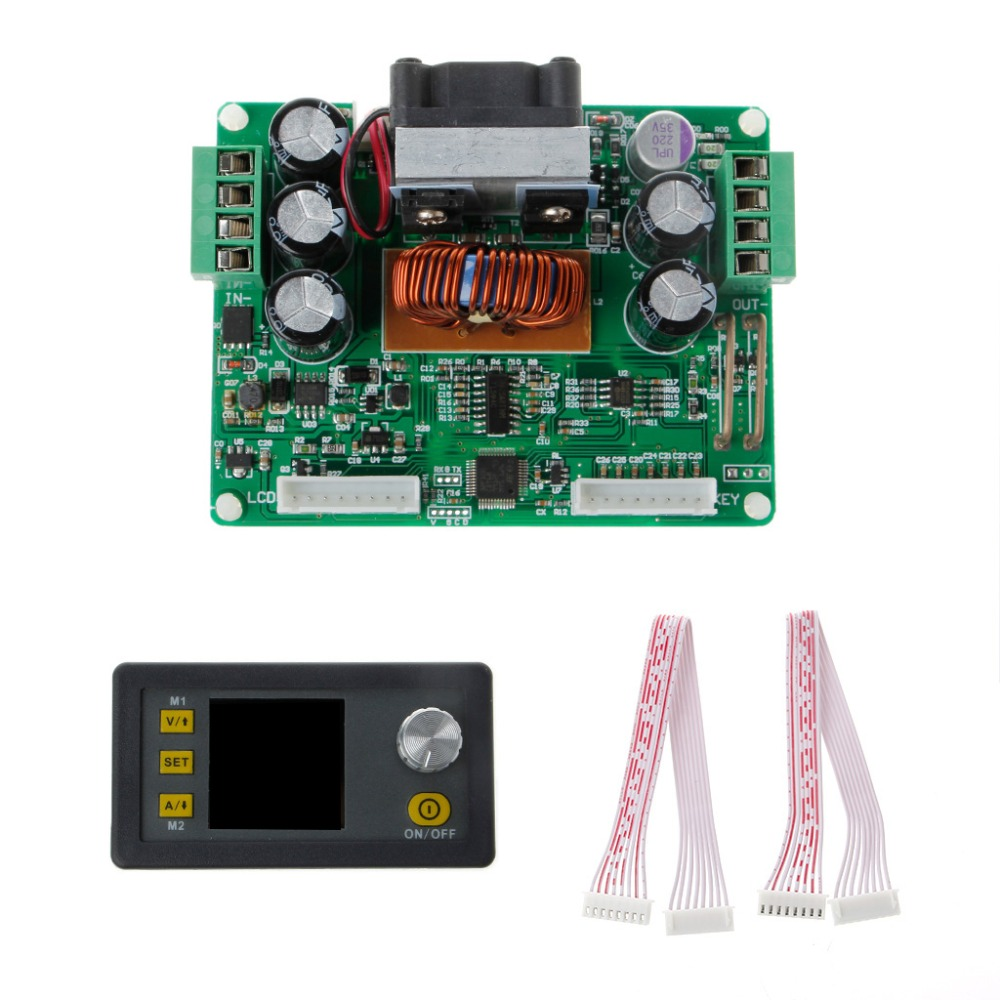 DPS3012 Adjustable Constant Voltage Step-down LCD Power Supply Module Voltmeter Voltage Regulators Stabilizers Electric Tools 10a dc power adjustable step down dc constant voltage constant current power supply module lcd screen