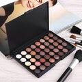 Artículo caliente! Long Lasting Sombra de Ojos 40 Colores de Sombra de Ojos Paleta de Maquillaje Conjunto de Herramientas Cosmética