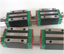 4 шт. HGR20-1500MM + 8 шт. HGH20CA Hiwin линейные направляющие линейные узкие блоки для чпу