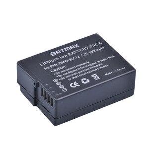 4 шт., перезаряжаемая литий-ионная батарея DMW-BLC12 dmw blc12e DMCBLC12 BLC12 для Panasonic FZ1000, FZ200, FZ300, G5, G6, G7, GH2, DMC-GX8