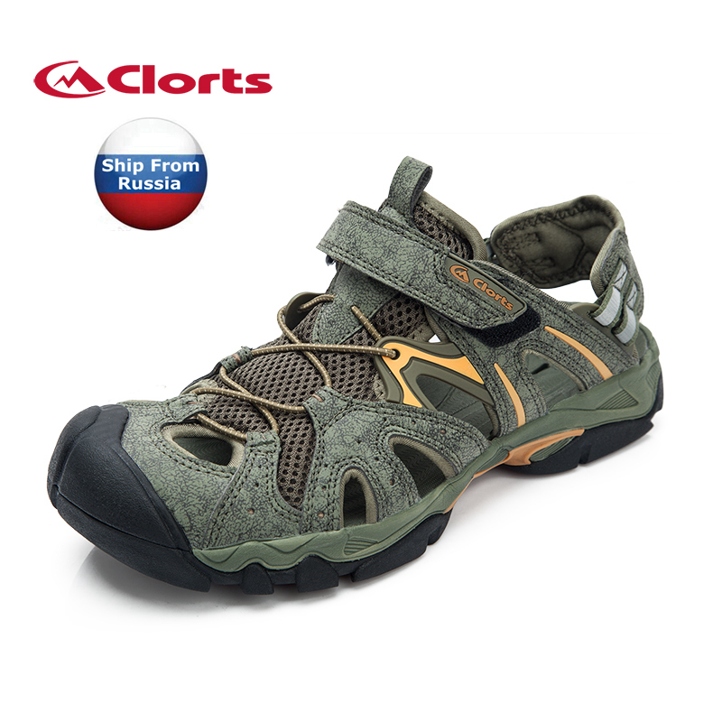 ФОТО (Shipped From Russian Warehouse)2017 Clorts Mens Sport Sandals Summer Beach Aqua Shoes For Men Free Shipping SD-207B/C
