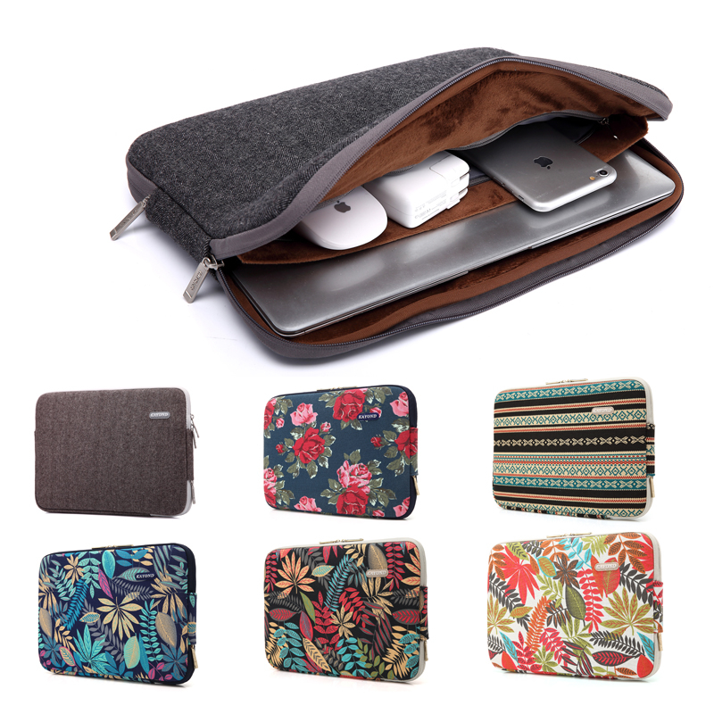 11.6 12 13.3 14 15.4 Bohemian Style Laptop Väska till Macbook Air 13 Pro 15 Laptop Sleeve Väska till Mac Lenovo Acer Sony Coque Pouce