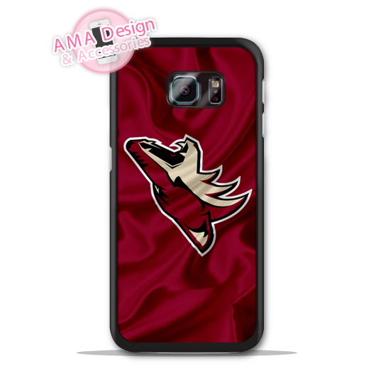 Arizona Coyotes Ice Hockey Flag Case For Galaxy S8 S7 S6 Edge Plus S5 S4 mini active Ace Win S3 Core Note 4 2