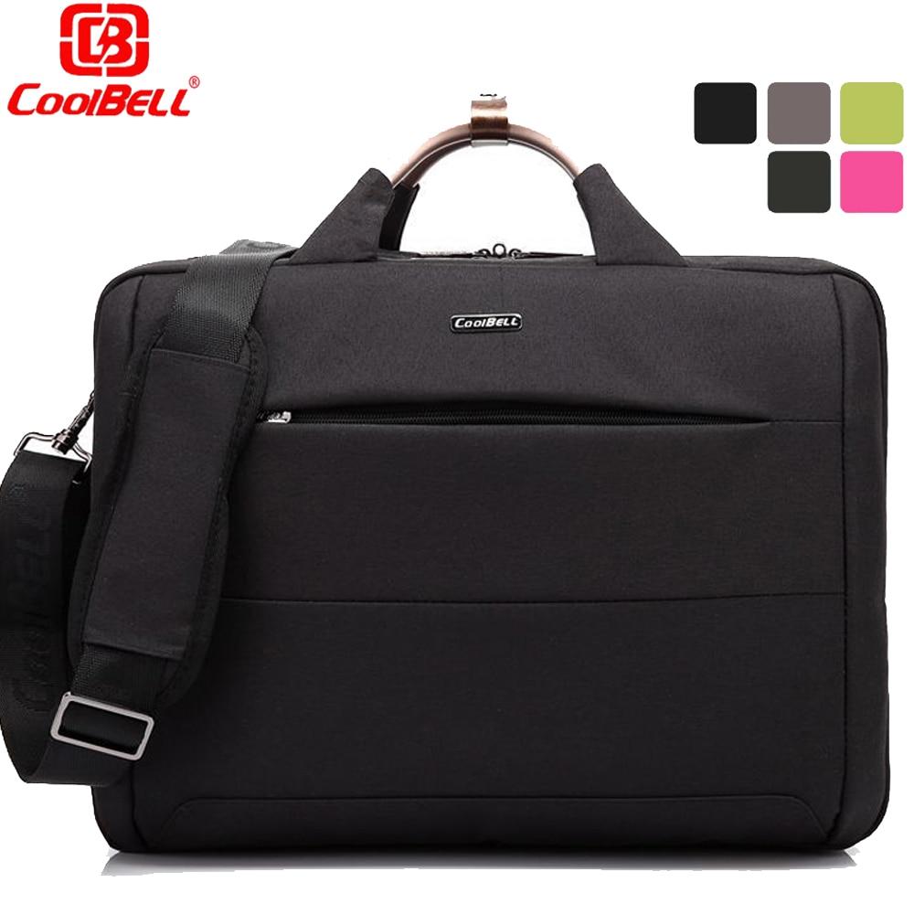 ФОТО 2017 CoolBell Brand 15 inch Laptop Bag 15.6 Notebook Computer Bag Waterproof Messenger Shoulder Bag Men Women Briefcase Business