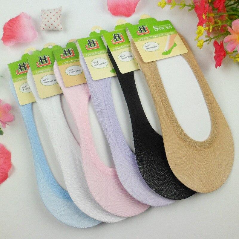 MZ026 envío gratuito cálido y cómodo de algodón de las mujeres, calcetines de tobillo bajo Mujer invisible color para niña niño medias 1 par = 2 unids