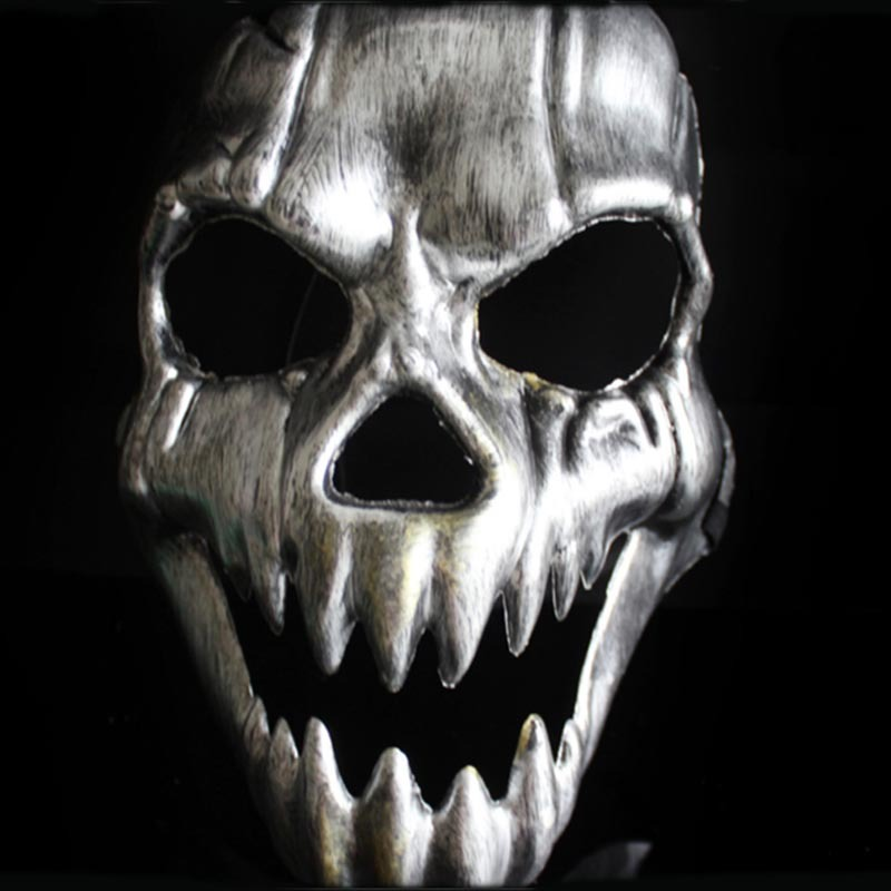 20pcs christmas cosplay kirin skull scary masks adults full face horror party mask halloween masquerade masks c 303in party masks from home u0026 garden on