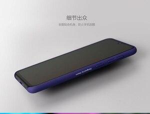 Image 2 - Étui dorigine Xiao mi mi 9 couverture arrière globale PC étui de protection antichocs givré capas mi 9 SE/protecteur décran PET