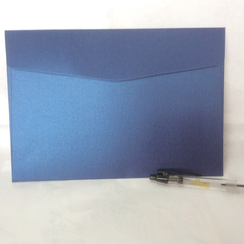 NINGYANG Paper 16.5X16.5CM Envelope Blue Pearl Paper Envelope High-grade Envelope 5/6/7# Envelopes 50PCS