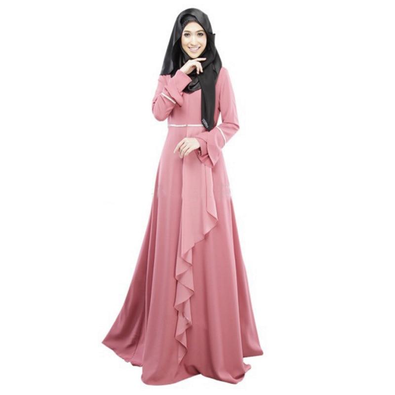 Aliexpress.com : Buy Arabian Dress Solid Long Malaysian ...