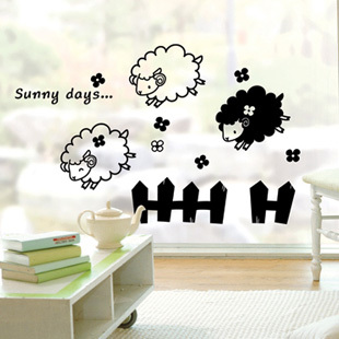 Sheep poster reviews online shopping sheep poster - Stickers mouton chambre bebe ...