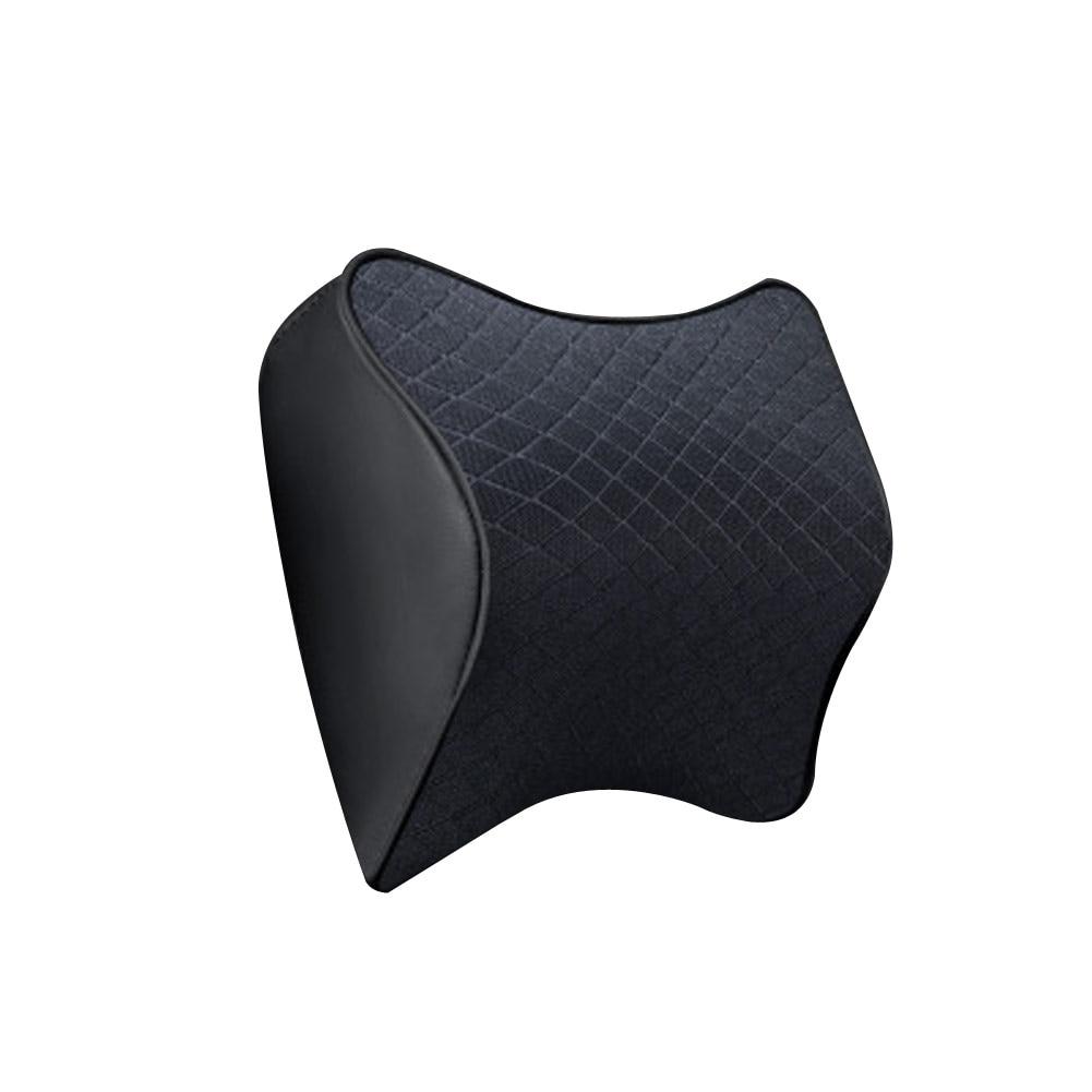 カーシートヘッドレストの首残りのマッサージ低反発クッションサポートカーシート枕ユニバーサルカースタイリング -