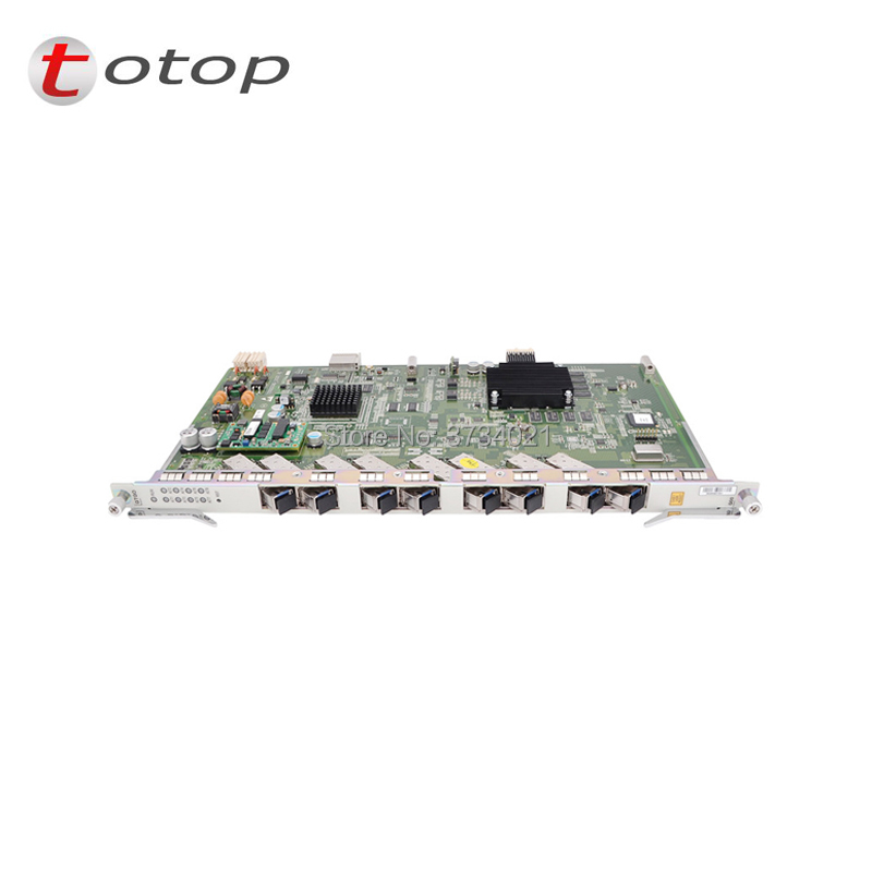 New and original ZTE 8 ports GPON business board GTGO with 8 C++ SFP business board for C300 C320 OLT