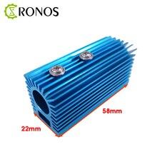 Алюминиевый теплоотвод, держатель для радиатора с ЧПУ для лазерного модуля 12 мм