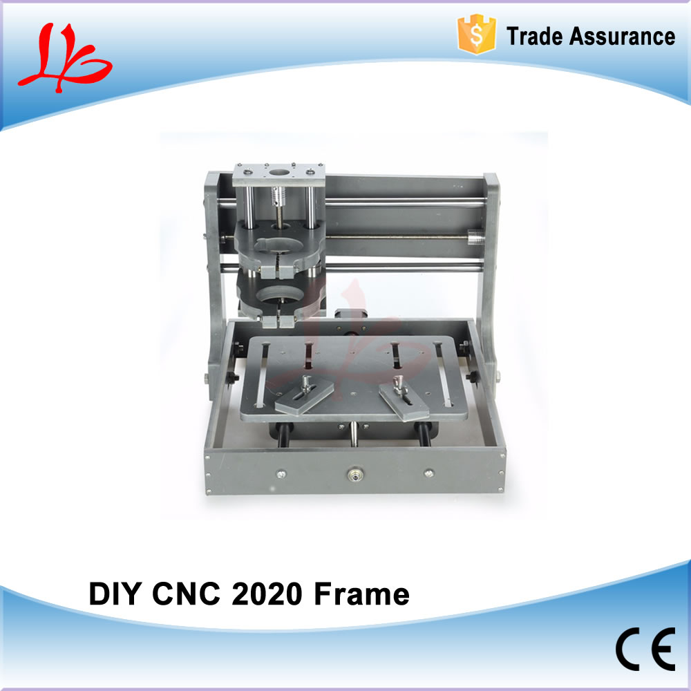 DIY CNC Machine 2020 Frame without motor Engraving Drilling and Milling Machine eur free tax cnc 6040z frame of engraving and milling machine for diy cnc router
