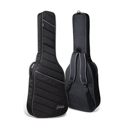 Free shipping high-end black electric guitar package,electric bass guitar bag,compression damping Oxford waterproof guitar bags