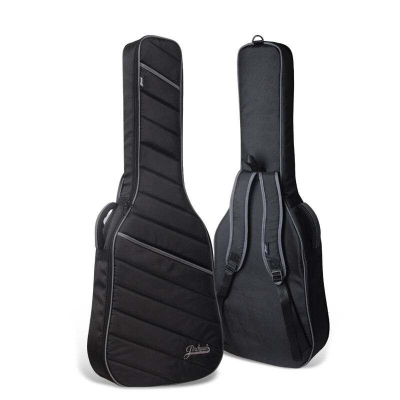 Space thickening classic guitar bag black electric guitar case electric bass bag 600D guitar bass bag shoulder straps bag cover astraea electric bass bag 600d nylon oxford 10mm thick sponge soft case 125cm free shipping