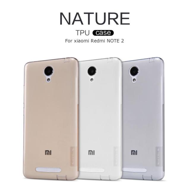 Xiaomi Redmi Note 2 Case Nillkin Nature Series Soft TPU Case Back Cover Case For Xiaomi Redmi Note 2 Pro Prime