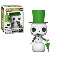 Funko pop Official Nightmare Before Christmas Snowman Jack Skellington Vinyl Action Figure Collectible Model Toy In Stock
