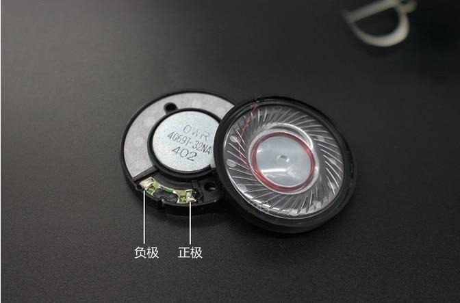 40mm speaker unit headset speaker 32ohms 1pair=2pcs