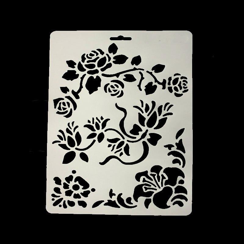 ୧ʕ ʔ୨DIY scrapbooking flores de vid refugio plantilla hornear ...