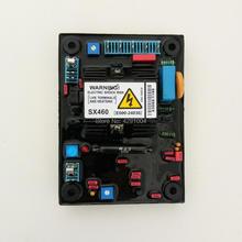 AVR SX460-A SX 460-A 460 с красным конденсатором мягкий клей лучшее качество аксессуары автоматический регулятор напряжения для генератора