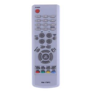 Image 1 - Универсальный ТВ пульт дистанционного управления телевизор IR Infared пульт дистанционного управления Замена для Samsung TV RM 16FC 018FC 179FC