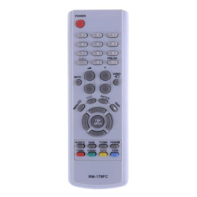Универсальный ТВ пульт дистанционного управления телевизор IR Infared пульт дистанционного управления Замена для Samsung TV RM 16FC 018FC 179FC