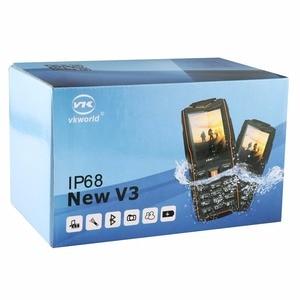 Image 5 - VKworld New Stone V3 Mobile Phone Waterproof IP68 2.4 inch FM Radio 3 SIM Card Led Flashlight GSM Russian Keyboard Cell phones