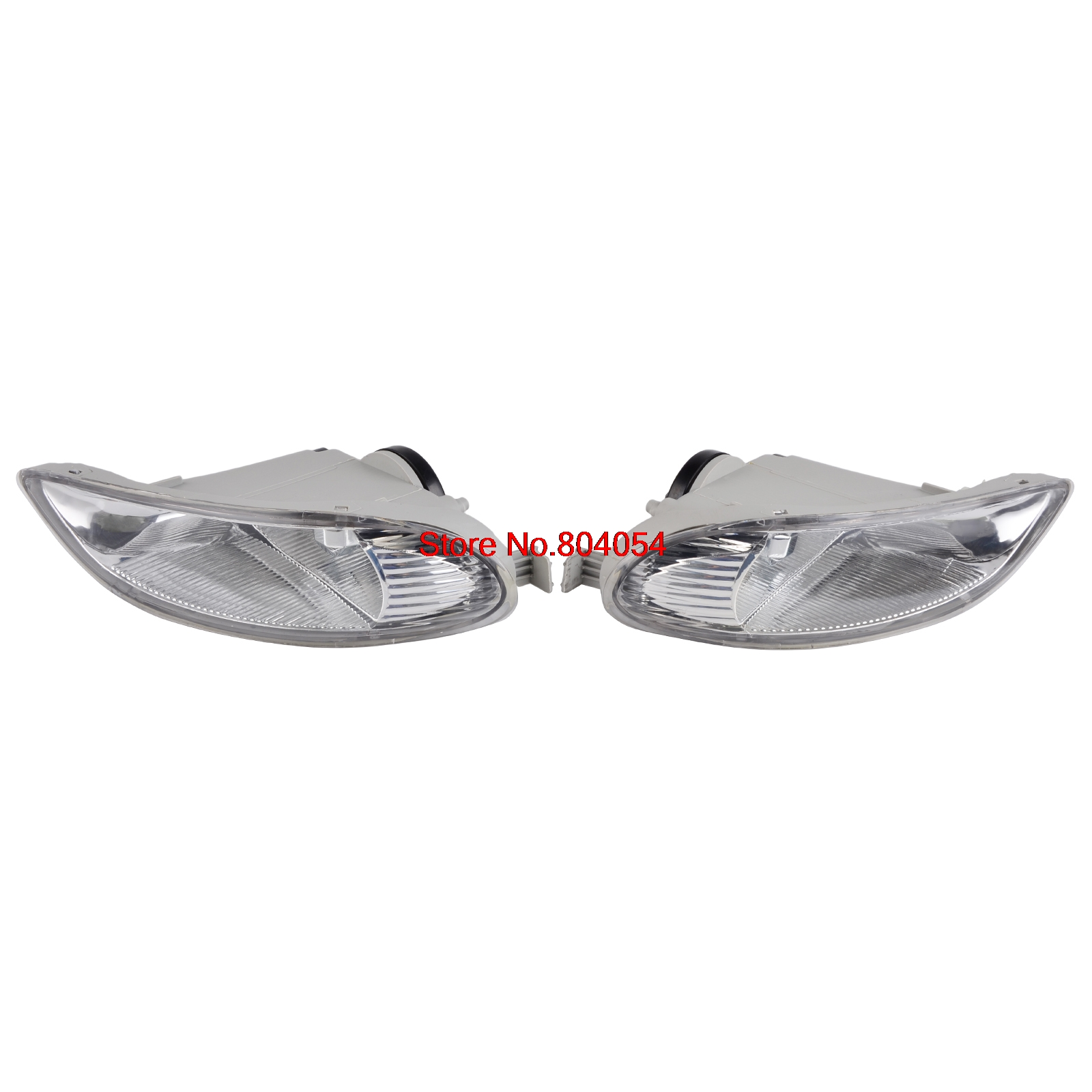 NICECNC A Pair Car Bumper Fog Lights Front Lamps Left & Right For Toyota Corolla 2005-2008 Camry 2002-2004 Solara 2002 2003 2 pcs set car styling front bumper light fog lamps for toyota avensis 2003 2009 fog lights left right 81210 06052