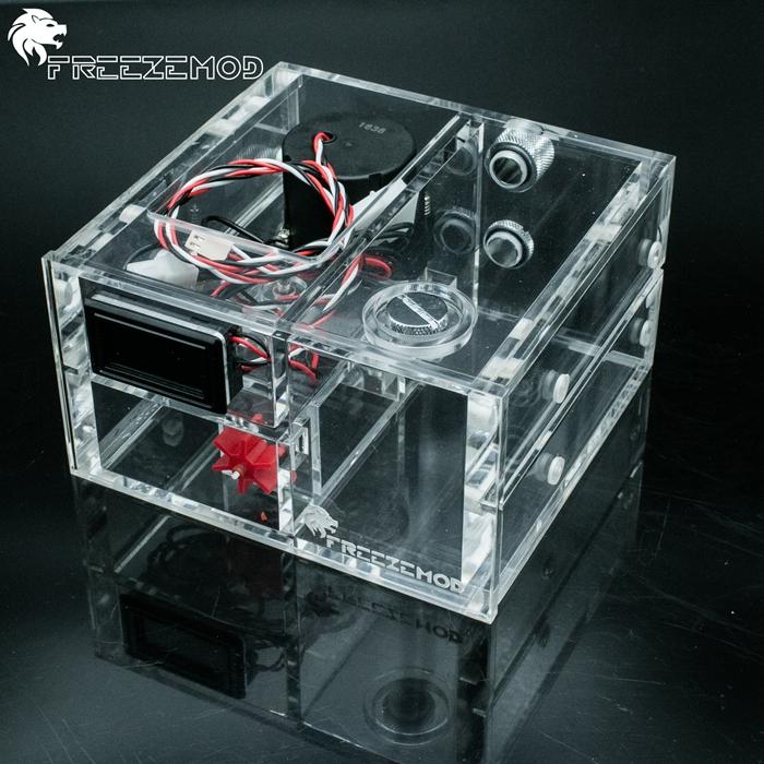 Prix pour Double lecteur optique réservoir d'eau avec SC600 pompe à eau + thermomètre + débitmètre ensemble. GQSX-Y1