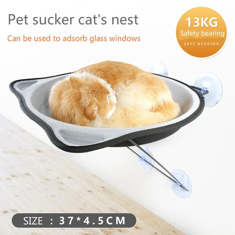 2018 Nieuwe Geld Glas Bed Koesteren In De Sunshine Klimrek Originaliteit Pet Hangmat Sucker Nest Kattenbakvulling Meer Comfort Voor De Mensen In Hun Dagelijks Leven