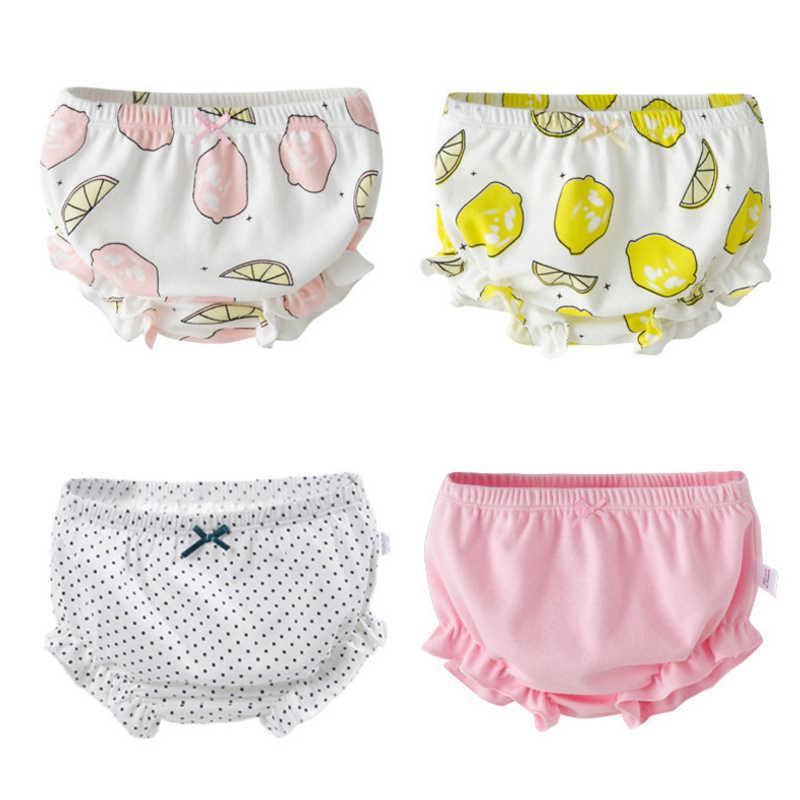 Comfortable Cotton Newborn Underwear Baby Girl Panties Infant Toddler Underwear Cute Briefs Bread Pants