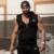 Tanque dos homens Encabeça Marca de Moda de Algodão Sem Mangas Musculação Regatas Undershirts Para O Sexo Masculino Hoodies Colete de Verão Casuais M-2XL