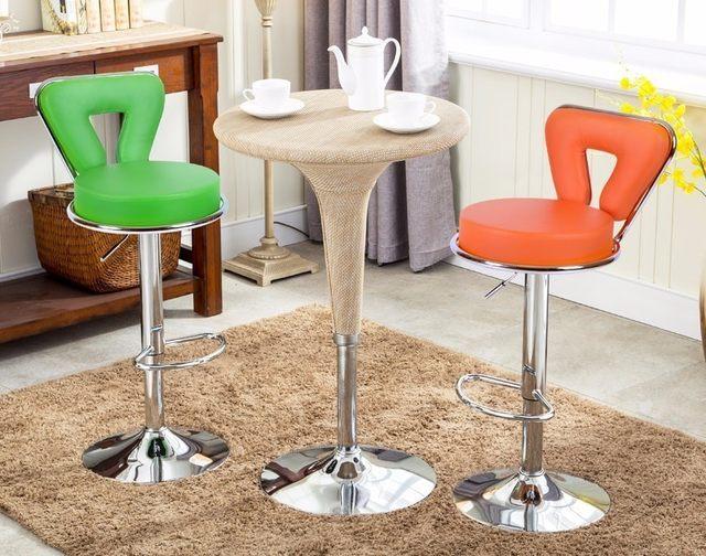 Tienda Online Color blanco sillas de bar salón comedor taburetes pu ...