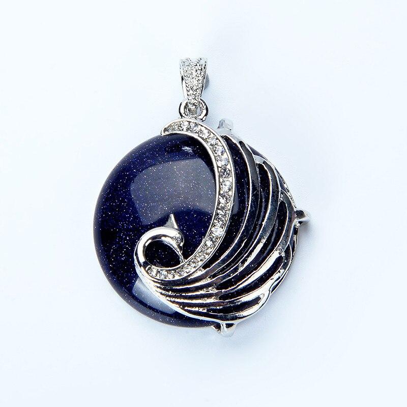 1pc Bohemia Phoenix Natural Stone Pendants for Necklace Woman Druzy Purple Crystal Chakras Opal Pendant Pendulum Fashion Jewelry