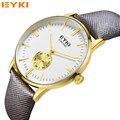 EYKI Moda Relógios de Ouro Homens Marca De Luxo Quartz Hora de Relógio Homem Relógio Esportivo Militar Do Exército dos homens Relógio de Pulso
