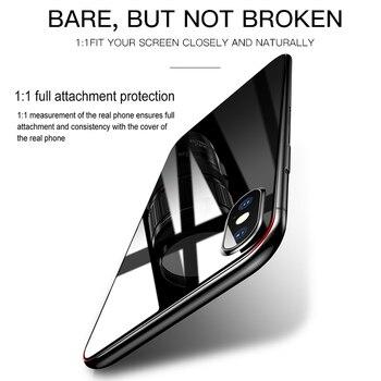 Защитная пленка для задней панели экрана Baseus для iPhone Xs Max XR, закаленное стекло для iPhone X Max