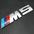 Mpower M-tech Car Trunk Emblema Emblema 3D emblema Etiqueta do Carro ABS M5 M5 Emblema logotipo do Carro Acessórios DO CARRO