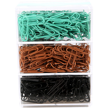 Free shipping 200pcs 70pcs paper clips packed paperclips gift for children