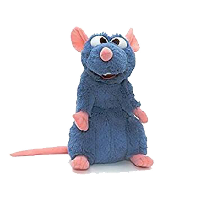 Plush Rat Dog Toy