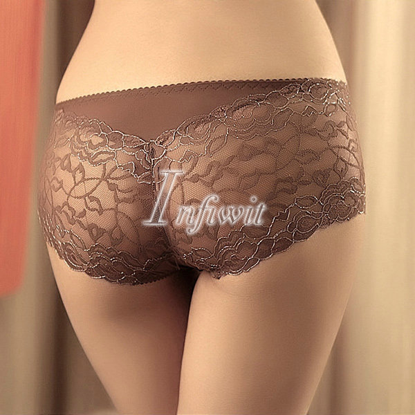 b5b3ad07ed4 Women Sexy Sheer See Through Lace Girlshorts Panties Lingeries Knickers  Underwear on Aliexpress.com