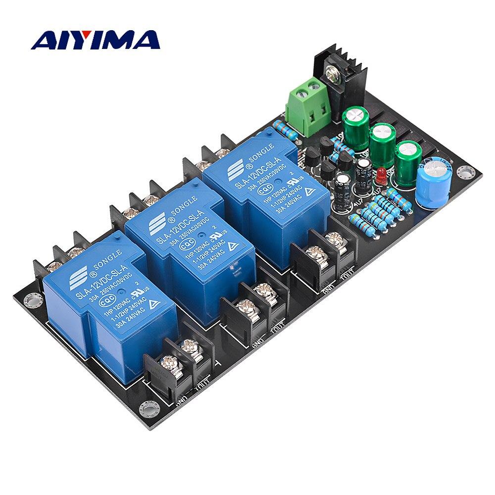 AIYIMA 2.1 רכב רמקול הגנת לוח ערכת חלקי ביצועים אמין 3 ערוצים גבוהה כוח הגנת לוח מגבר DIY