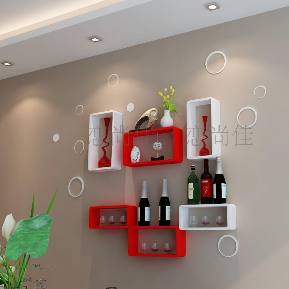 Simple Wall Cabinet Aliexpresscom Buy Creative Lattice Tv Backdrop Decorative Frame