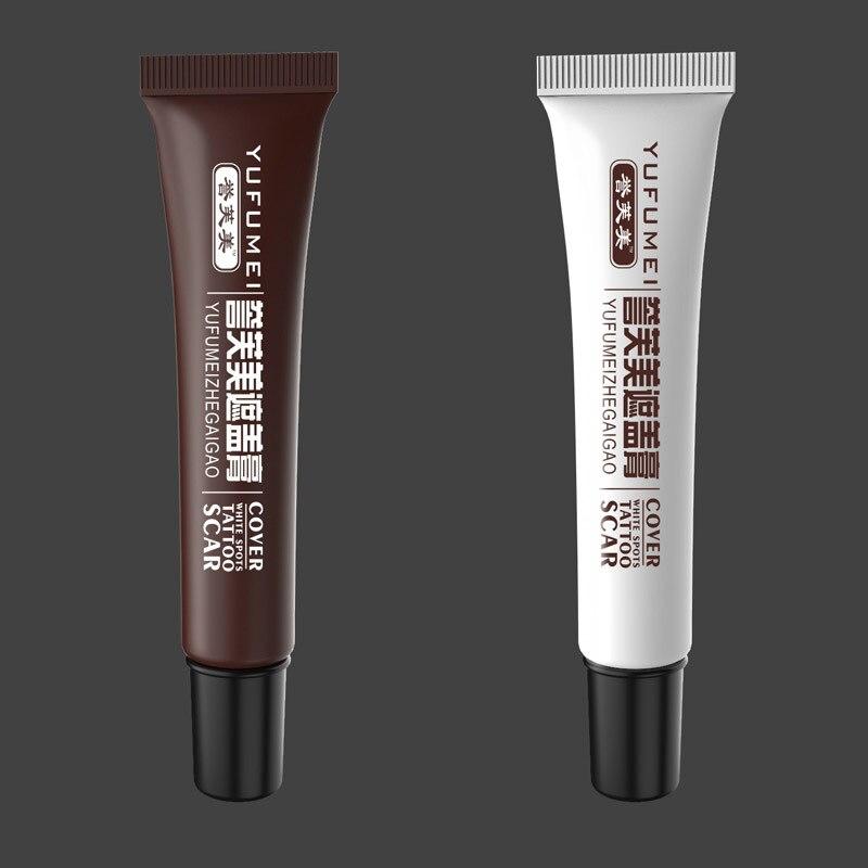 2 Pcs Skin Make-up Concealer Cream Tattoo Scar Birthmark Cover-up Cream 669