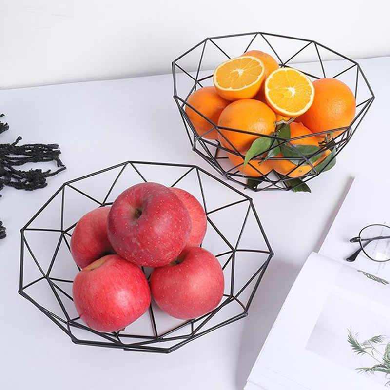 جوفاء سلة فاكهة حامل المطبخ وعاء لوحة الاكسسوارات المنزلية وجبة خفيفة المنظم سلات تخزين طبق الغذاء Hom