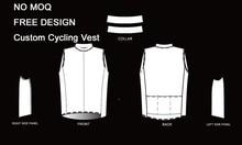 Men's Custom Cycling Vest Sleeveless